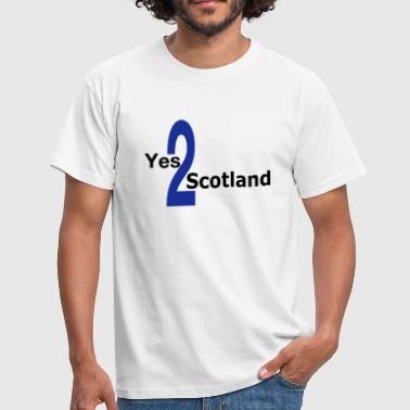 Yes 2 Scotland - Scottish Independence - Men's T-Shirt