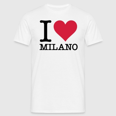 I Love Milan - Men's T-Shirt