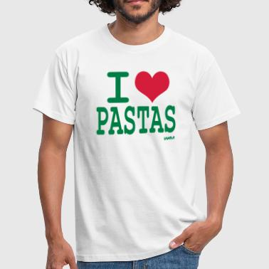i love pastas by wam - T-shirt Homme