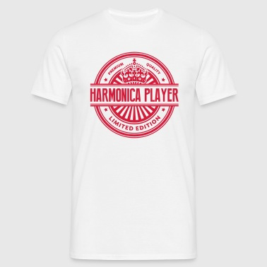 Limited edition harmonica player premium - Men's T-Shirt
