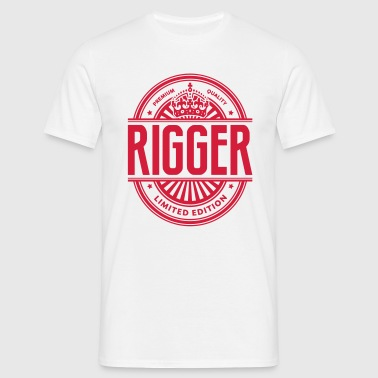 Limited edition rigger premium quality - Men's T-Shirt