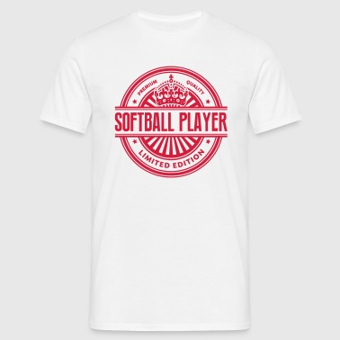 Limited edition softball player premium  - Men's T-Shirt