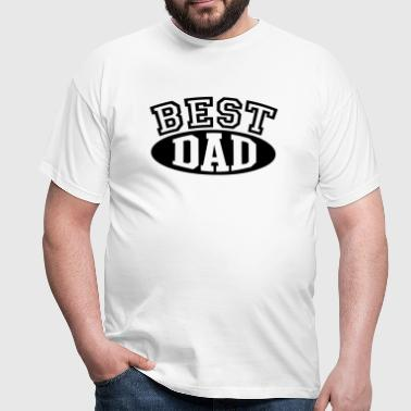 BEST DAD - Men's T-Shirt