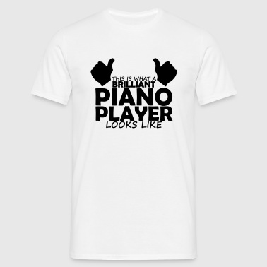 brilliant piano player - Men's T-Shirt