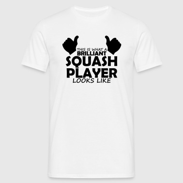brilliant squash player - Men's T-Shirt