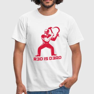Red is Dead - T-shirt Homme