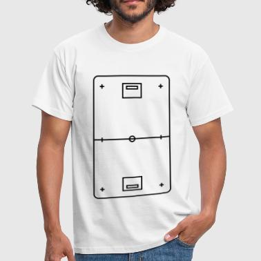 Floorball Tactic Board - Men's T-Shirt