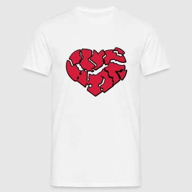 Broken Heart | Gebrochenes Herz - Men's T-Shirt