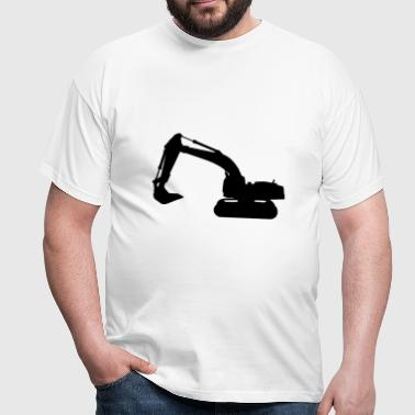 graafmachine truckbouw machine - Mannen T-shirt