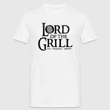 lord of the grill - Men's T-Shirt
