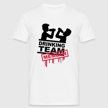 drinking_team_member - Mannen T-shirt