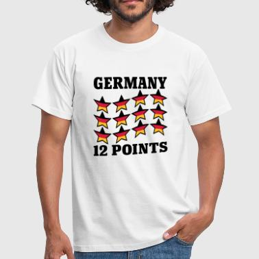 Germany 12 Points © - Camiseta hombre