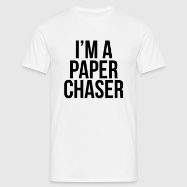 paper chaser - Men's T-Shirt