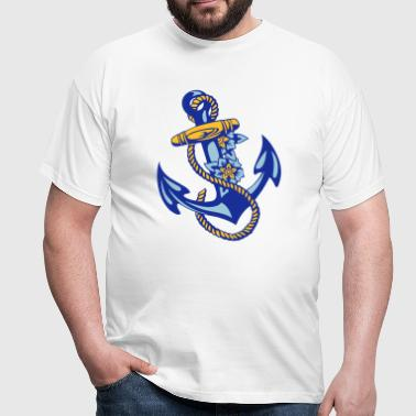 sailor*anchor - Männer T-Shirt