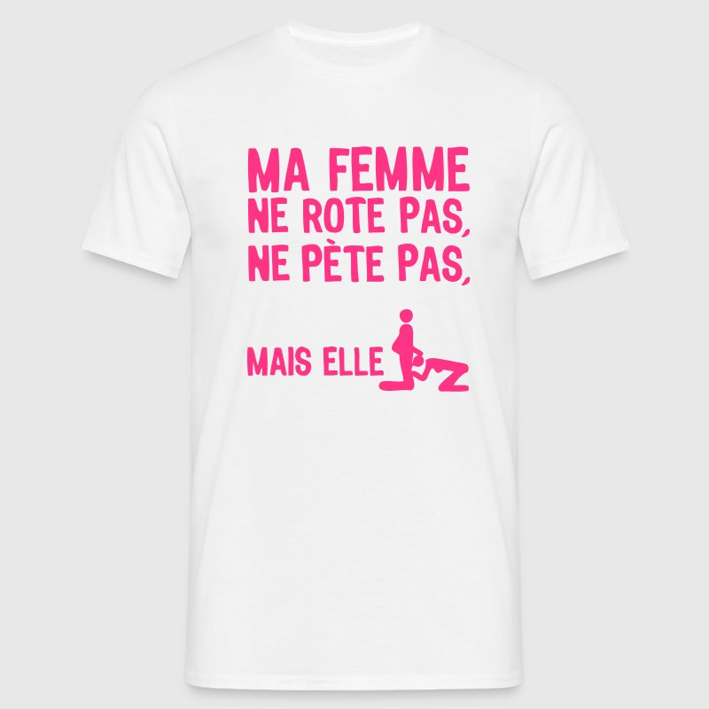 femme pete rote suce sexe1 - T-shirt Homme
