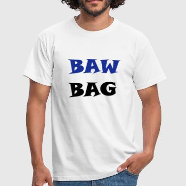 Bawbag - red/black - Men's T-Shirt