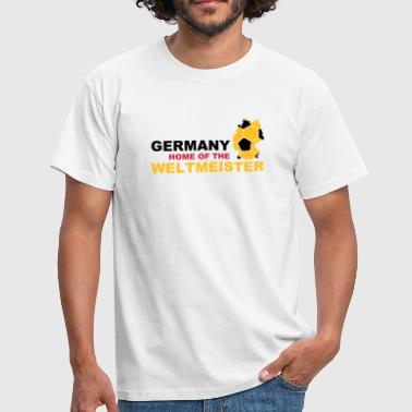 germany home of the weltmeister - Camiseta hombre