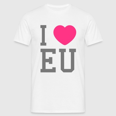 i heart eu - Men's T-Shirt