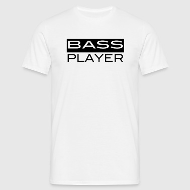 bass player - Männer T-Shirt