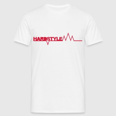 Hardstyle Spikes - T-skjorte for menn