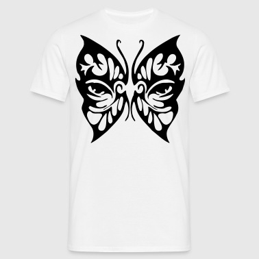 papillon Eyes tribale - T-shirt Homme