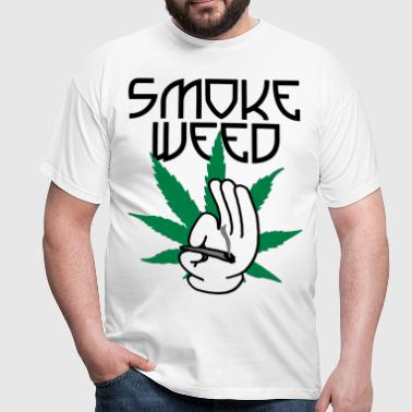 smoke_weed - T-shirt Homme