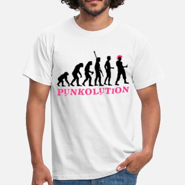 Punk evolution_punk_2c_b - T-shirt herr