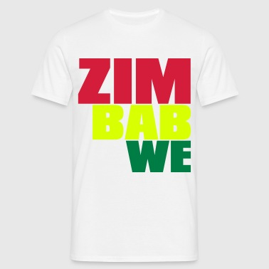 ZIMBABWE - Men's T-Shirt