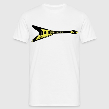 guitar, Amp, amplifier, skirt, pop, roll, string, bass, Metal, loud, box, roar, music, noise, riot, party, sex, flying, Guitar, Halen, AC, DC, Van, Queen, Heavy, Gig  - T-shirt herr