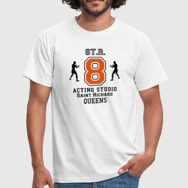 straight acting  - T-shirt Homme