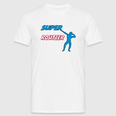 Super routier - T-shirt Homme