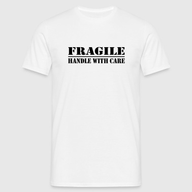 fragile - T-skjorte for menn