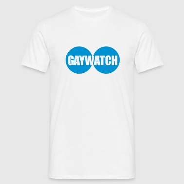 GAYWATCH © - Herre-T-shirt