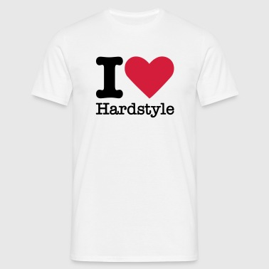 I Love Hardstyle - Men's T-Shirt