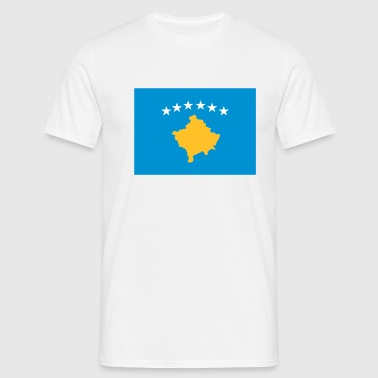 Kosovo flag - Men's T-Shirt