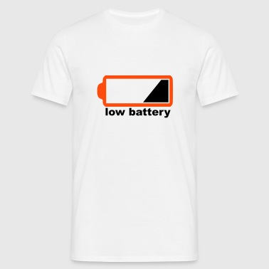low battery - Männer T-Shirt