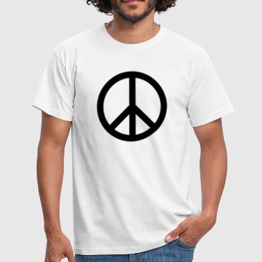 Sign of Peace - Männer T-Shirt