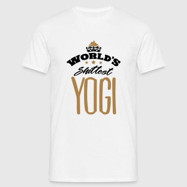 worlds shittest yogi - Men's T-Shirt