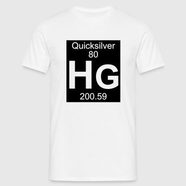 Quicksilver (Hg) (element 80) - Men's T-Shirt