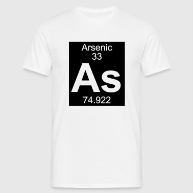 Element  33 - as (arsenic) - Inverse (Full) - T-shirt Homme