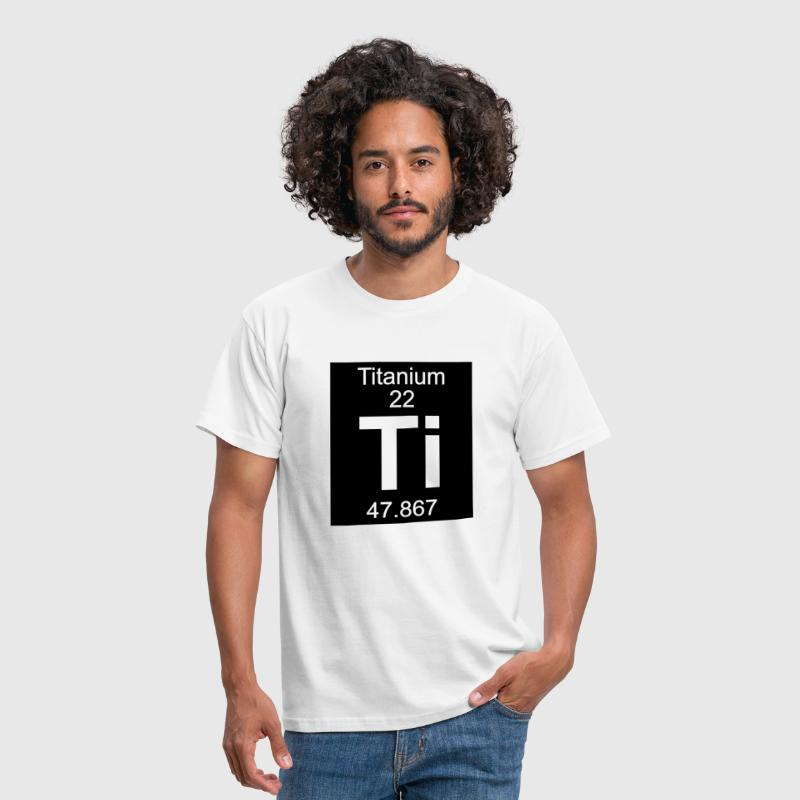 Titanium (Ti) (element 22) - Men's T-Shirt