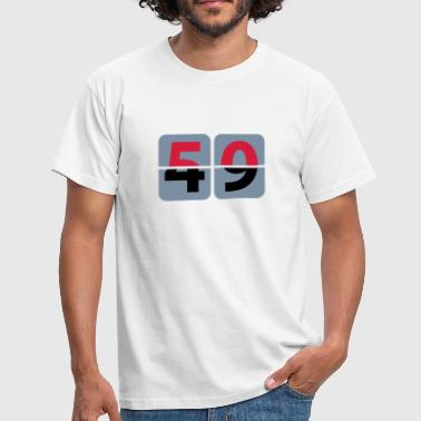 Saying 50. Birthday | Geburtstag - Men's T-Shirt