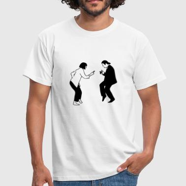 pulp fiction dancing pf06 - Männer T-Shirt