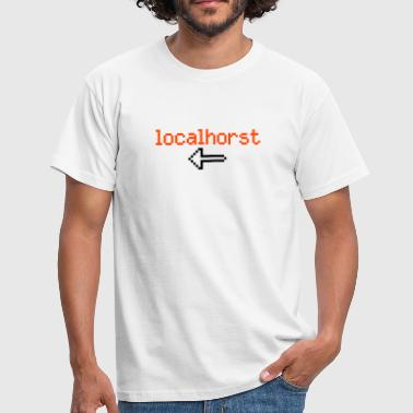 From localho(r)st - Men's T-Shirt