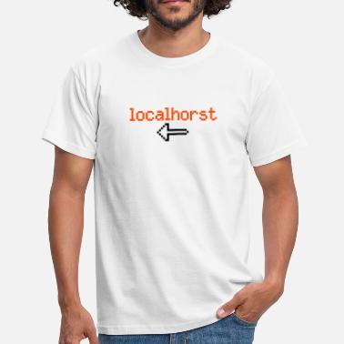 Local localho(r)st - Men's T-Shirt