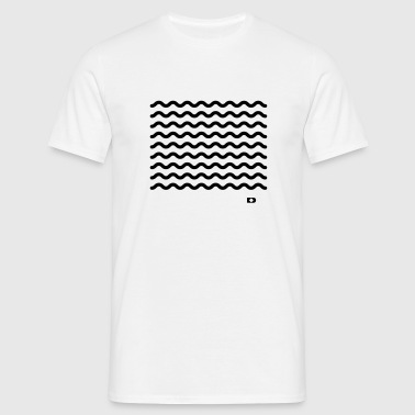A-090 Waves - Männer T-Shirt