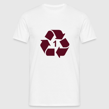 Recycle - Mannen T-shirt