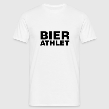 Bier Athlet | Beer - Mannen T-shirt