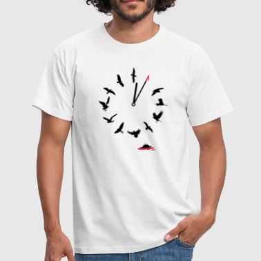 Doomsday Bird Clock - T-shirt herr