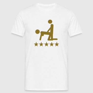 sex 5 star - Männer T-Shirt